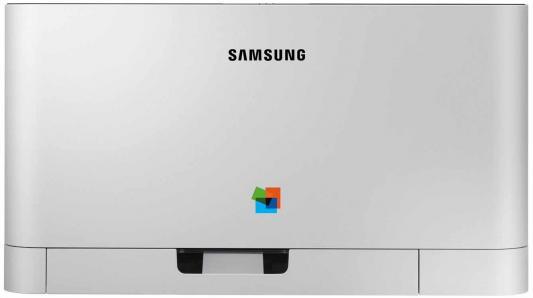 Принтер Samsung SL-C430 цветной A4 18ppm 2400x600dpi USB
