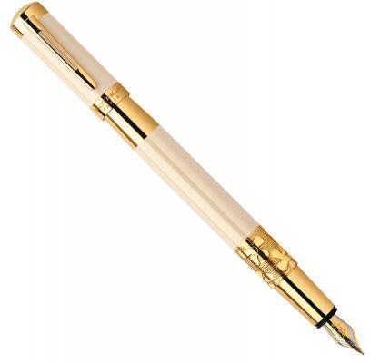 Перьевая ручка Waterman Elegance Ivory GT синий F перо F S0891310 ручка перьевая visconti divina royale nero перо f коричневый vs 373 02f