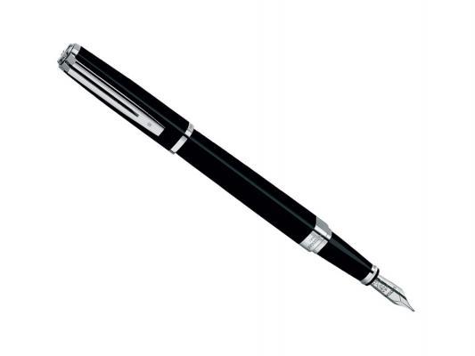 Перьевая ручка Waterman Exception Slim Black ST синий F перо F S0637010