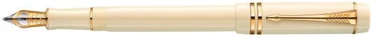 Перьевая ручка Parker Duofold F74 International Historical Colors Ivory GT F 1907138