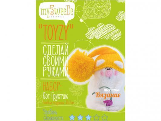 Набор для вязания Toyzy Кот грустик от 7 лет TZ-K001