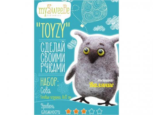 Набор для валяния Toyzy Сова от 6 лет TZ-F002