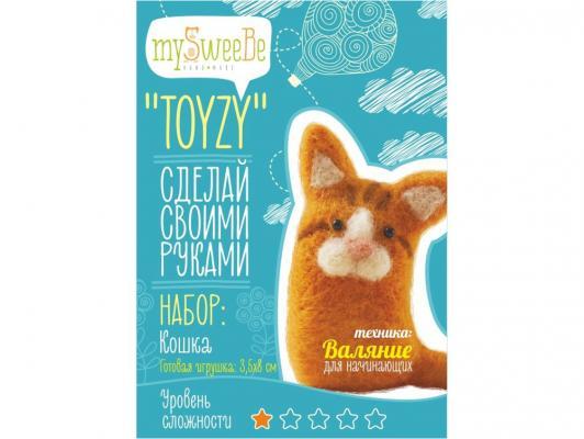 Набор для валяния Toyzy Кошка от 6 лет TZ-F008