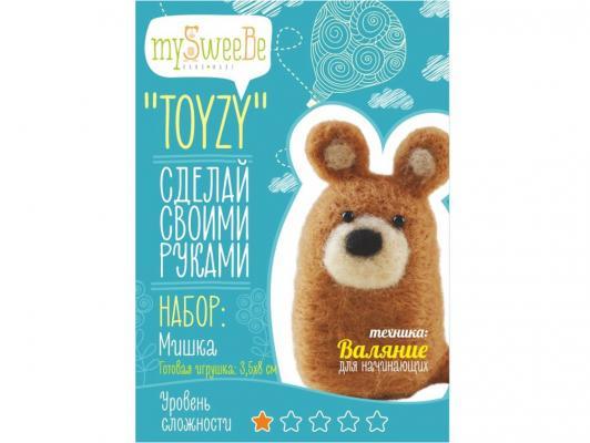 Набор для валяния Toyzy Мишка от 6 лет TZ-F011