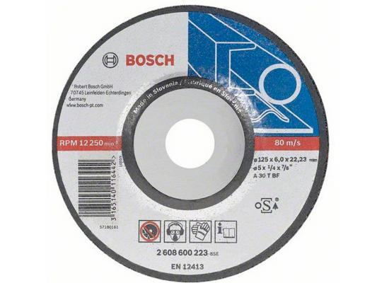 Обдирочный круг Bosch 125х6мм 2608600223