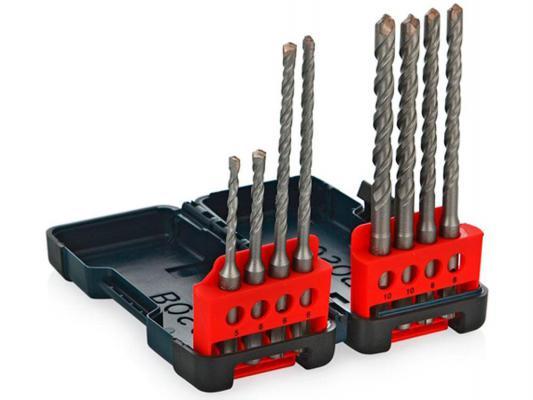 Набор сверел Bosch Tough Box SDS-plus 8шт 2607019903