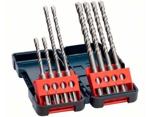 Набор сверел Bosch Tough Box SDS-plus 8шт 2607019902