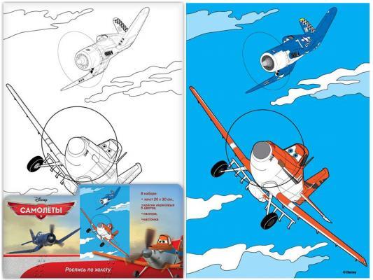 Набор для росписи по холсту Disney Самолеты от 5 лет 26151 роспись по холсту самолеты disney самолеты 26151
