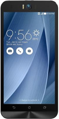 "Смартфон ASUS Zenfone 2 Selfie ZD551KL серебристый 5.5"" 16 Гб LTE GPS Wi-Fi 90AZ00U6-M01290"