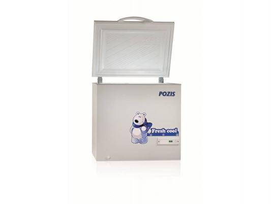 Морозильный ларь Pozis FH-256-1 белый морозильный ларь hansa fs300 3 белый