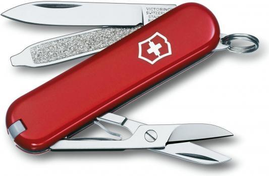 Нож Victorinox Classic (0.6223.B1) красный 7 функций 58мм блистер