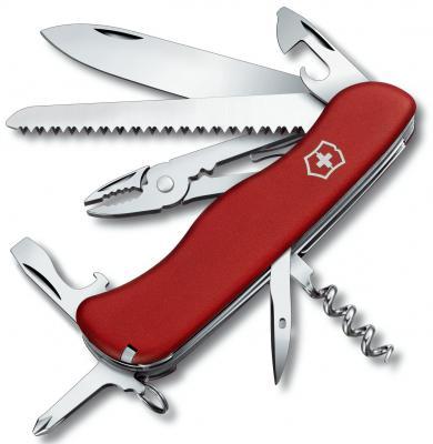 Нож перочинный Victorinox Atlas 0.9033 с фиксатором лезвия 16 функций красный