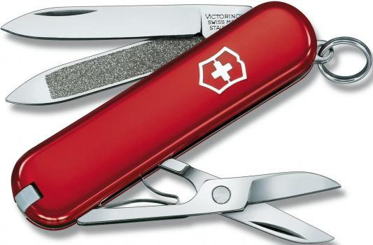 Нож перочинный Victorinox Classic 0.6203 58мм 7 функций красный