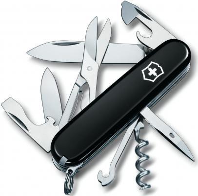 Нож перочинный Victorinox Climber 1.3703.3 91мм 18 функций черный