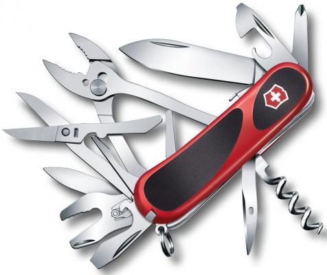 Нож перочинный Victorinox EvoGrip S557 2.5223.SC 85мм 21 функция красно-чёрный