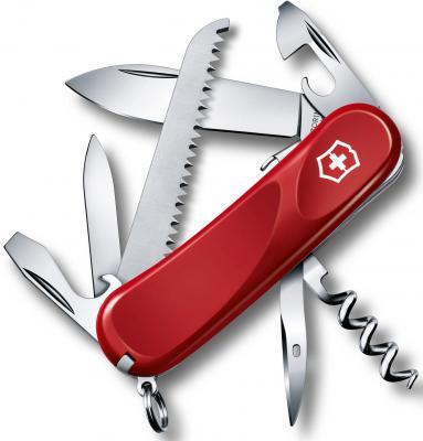 Нож перочинный Victorinox Evolution S13 2.3813.SE 85мм 14 функций красный