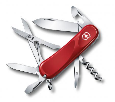 Нож перочинный Victorinox Evolution S14 2.3903.SE 85мм 14 функций красный