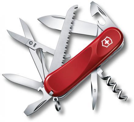 Нож перочинный Victorinox Evolution S17 2.3913.SE 85мм 15 функций красный