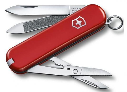 Нож перочинный Victorinox Executive 81 0.6423 65мм 7 функций красный