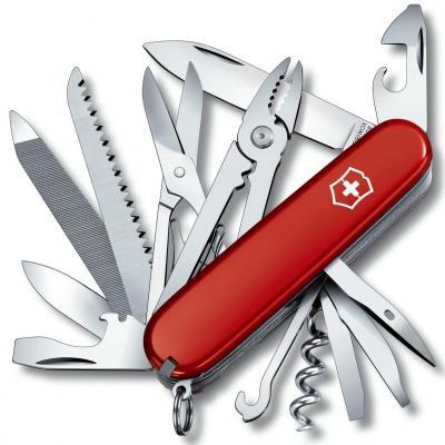 Нож перочинный Victorinox Handyman 1.3773 91мм 24 функции красный