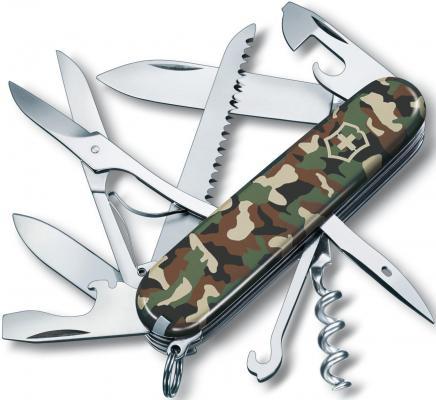 Нож перочинный Victorinox Huntsman 1.3713.94 91мм 15 функций камуфляж