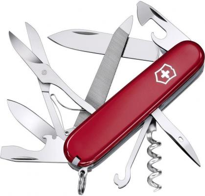 Нож перочинный Victorinox Mountaineer 1.3743 91мм 18 функций красный