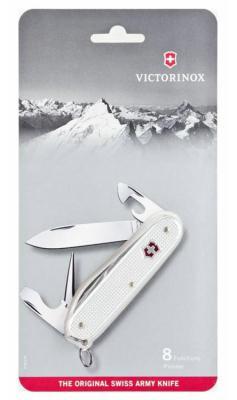Нож перочинный Victorinox Pioneer 0.8201.26B1 серебристый 8 функций блистер алюминий
