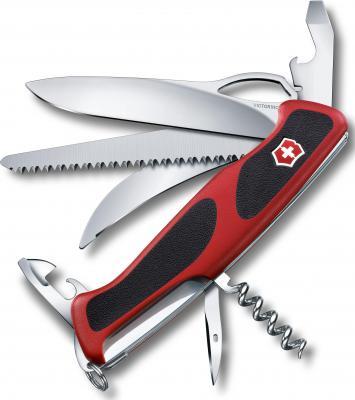 Нож перочинный Victorinox RangerGrip 57 Hunter 0.9583.MC 130мм 13 функций красно-чёрный