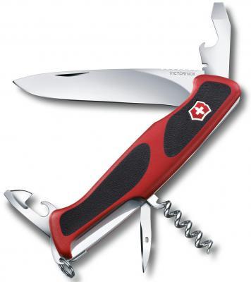Нож перочинный Victorinox RangerGrip 68 0.9553.C 130мм 11 функций красно-чёрный