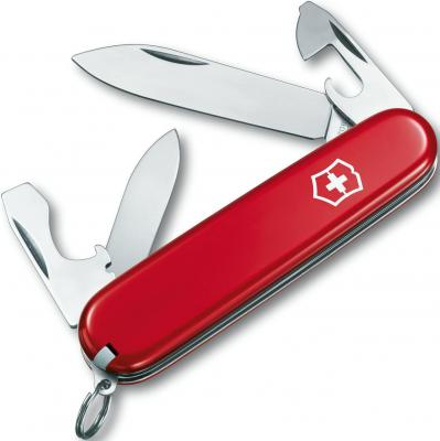 Нож перочинный Victorinox Recruit 0.2503 10 функций 84мм красный