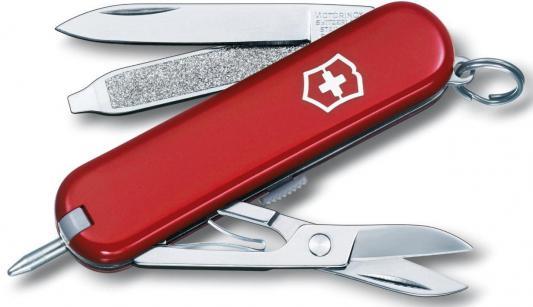 Нож перочинный Victorinox Signature 0.6225 58мм 7 функций красный
