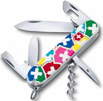 "Нож перочинный Victorinox Spartan ""VX Colors"" 1.3603.841 91мм дизайн рукояти ""цвета Victorinox"""