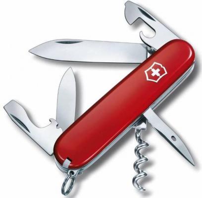 Нож перочинный Victorinox Spartan 1.3603 91мм 12 функций красный