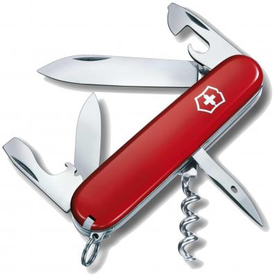 Нож перочинный Victorinox Spartan 1.3603 91мм 12 функций красный (блистер)