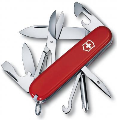 Нож перочинный Victorinox Super Tinker 1.4703 91мм 14 функций красный