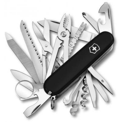 Нож перочинный Victorinox SwissChamp 1.6795.3 91мм 33 функции черный