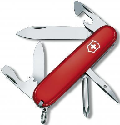 Нож перочинный Victorinox Tinker 1.4603 91мм 12 функций красный