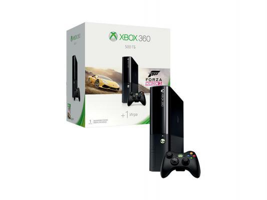 Игровая приставка Microsoft Xbox 360  500Gb + Forza Horizon 2 черный 3M4-00043