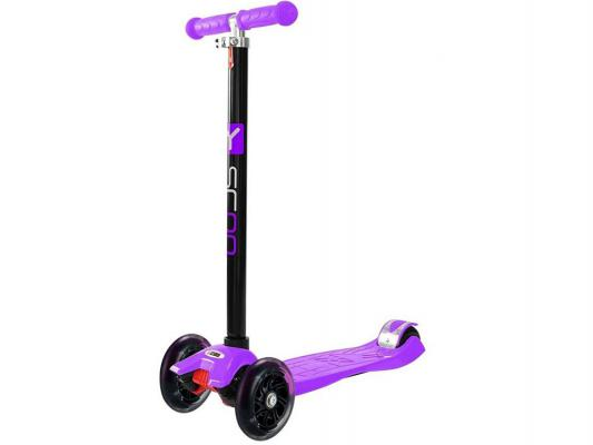 Самокат Y-SCOO Maxi Shine A20 фиолетовый 4894