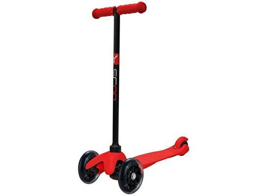 Купить Самокат Y-SCOO Самокат трехколёсный Mini Shine A5 красный 4897, Трехколесные самокаты для детей