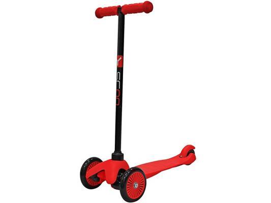 Купить Самокат Y-SCOO Mini Simple A5 красный, Трехколесные самокаты для детей