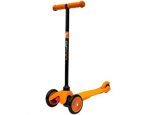 Купить Самокат Y-SCOO Mini Simple A5 оранжевый 4901, Трехколесные самокаты для детей