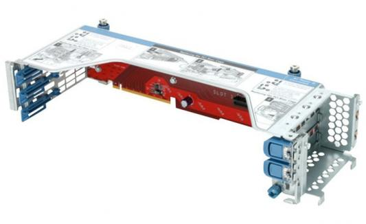 Адаптер HP DL360 Gen9 2P LP PCIe Slot CPU2 Kit 764642-B21 адаптер hp ethernet 560sfp 2x10gb для dl165 580 585 980g7 gen8 gen9 665249 b21