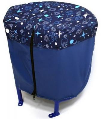 Багажник RT для санимобиля синий 4999