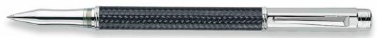 Ручка-роллер поворотная Caran D'Ache Varius Carbon 3000 SP черный F 4470.017