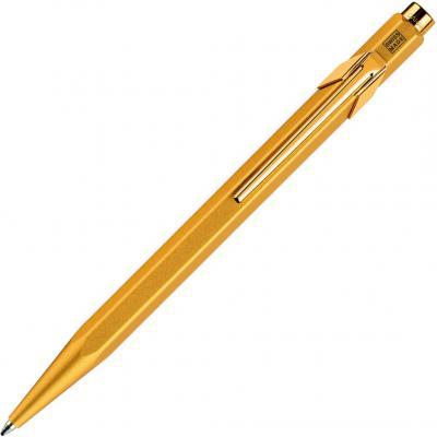 Шариковая ручка автоматическая Caran D'Ache Office 849 Goldbar синий 849.999