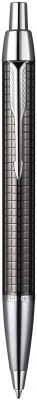 Шариковая ручка автоматическая Parker IM Premium K222 Dark Grey синий M S0908710