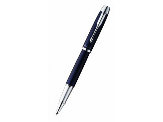 Ручка-роллер Parker IM Metal T221 черный 0.5 мм хромированные детали S0856380
