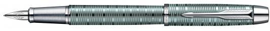 Перьевая ручка Parker IM Premium F224 Emerald Pearl CT F 1906731