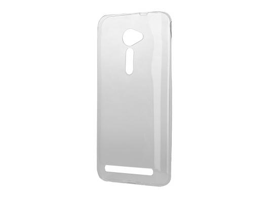 Чехол силикон iBox Crystal для Asus Zenfone 2 ZE500CL серый аксессуар чехол накладка asus zenfone 2 ze550 551ml ibox crystal transparent